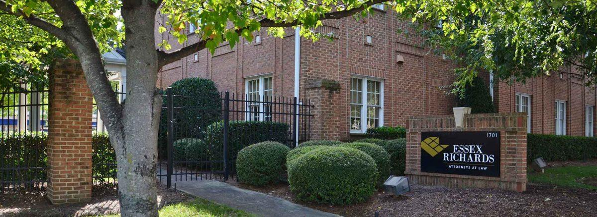 Essex Richards Law firm attorneys North Carolina building